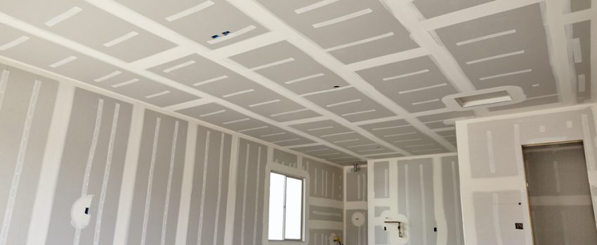how to sheetrock